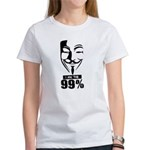 Fawkes 99% Women's T-Shirt