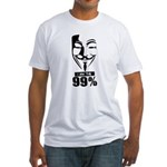 Fawkes 99% Fitted T-Shirt