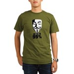Fawkes 99% Organic Men's T-Shirt (dark)