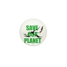 save our planet Mini Button (100 pack)
