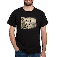 Go For Baroque Black T-Shirt
