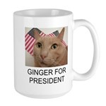 Ginger 4 Prez Large Mug