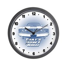 How I Roll - Dodge Coronet Wall Clock