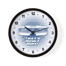 How I Roll - Dodge Coronet Wall Clock