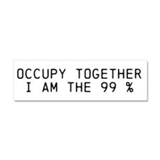 Occupy Car Magnet 10 x 3