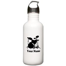 Personalized Drums Water Bottle