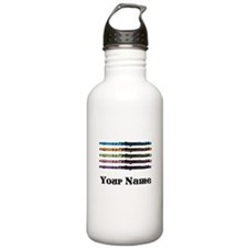 Personalized Flute Music Sports Water Bottle