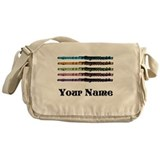 Personalized Flute Music Messenger Bag