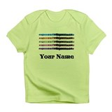 Personalized Flute Music Infant T-Shirt