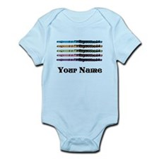 Personalized Flute Music Infant Bodysuit