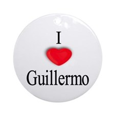Guillermo Ornament (Round)