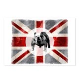 Union Jack and Bulldog Postcards (Package of 8)