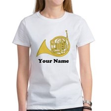 Personalized French Horn Tee