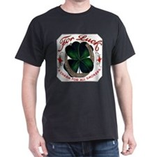 For Luck Cigar Label T-Shirt