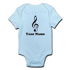 Personalized Musician Gift Infant Bodysuit