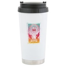 """Sacred Hearts"" Ceramic Travel Mug"