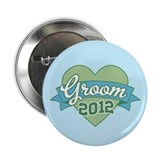 "Groom Heart 2012 2.25"" Button"