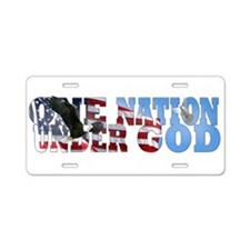 Funny Christian Aluminum License Plate