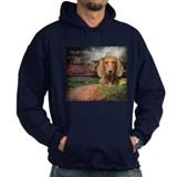 """Why God Made Dogs"" Dachshund Hoodie"
