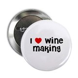 "I * Wine Making 2.25"" Button (10 pack)"