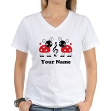 Personalized Music Ladybug Shirt