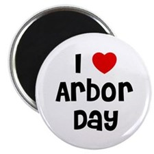"I * Arbor Day 2.25"" Magnet (10 pack)"