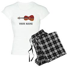 Personalized Violin Pajamas