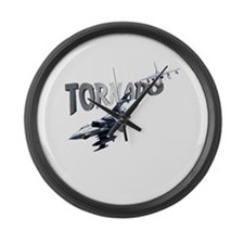 Tornado Large Wall Clock