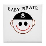 Cute Piracy Tile Coaster