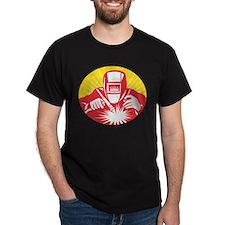welder welding worker T-Shirt