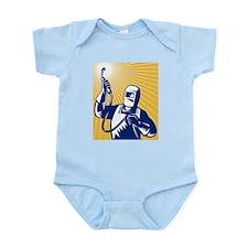 welder welding worker Infant Bodysuit