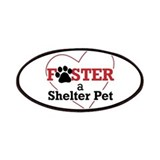 Foster a Shelter Pet Patches