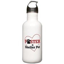 Foster a Shelter Pet Water Bottle