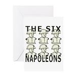 Six Napoleons Greeting Card