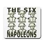 Six Napoleons Mousepad