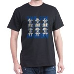 Six Napoleons Dark T-Shirt
