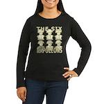 Six Napoleons Women's Long Sleeve Dark T-Shirt