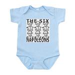 Six Napoleons Infant Bodysuit