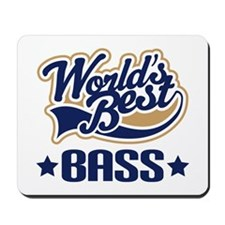 Bass (World's Best) Mousepad