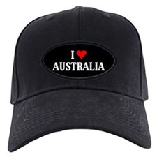 I Love Australia Baseball Hat