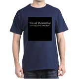 Nasal Retentive Black T-Shirt