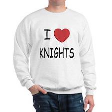 I heart knights Sweatshirt