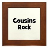 Cousins Rock Framed Tile
