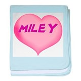 miley heart baby blanket