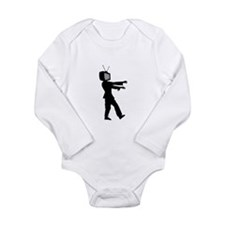 TV Zombie Long Sleeve Infant Bodysuit