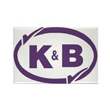 K&B Drugs Double Check Rectangle Magnet (10 pack)