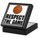 Respect Basketball Keepsake Box