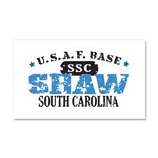Shaw Air Force Base Car Magnet 20 x 12