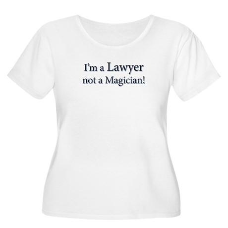 Lawyer Women's Plus Size Scoop Neck T-Shirt