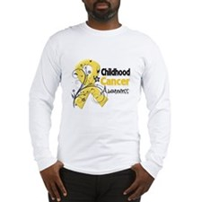 Childhood Cancer Long Sleeve T-Shirt